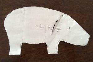 Jeanius Denim Softy Pig