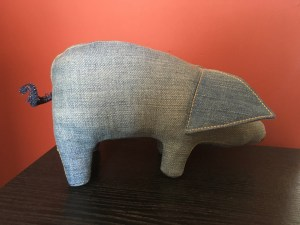 Jeanius Denim Softy Pig