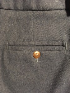 Feminien Coin Pocket Jeans Chino