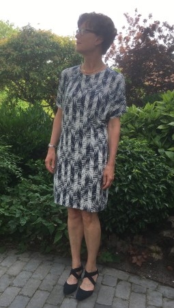 GBSB Drapey Knit Dress refitted