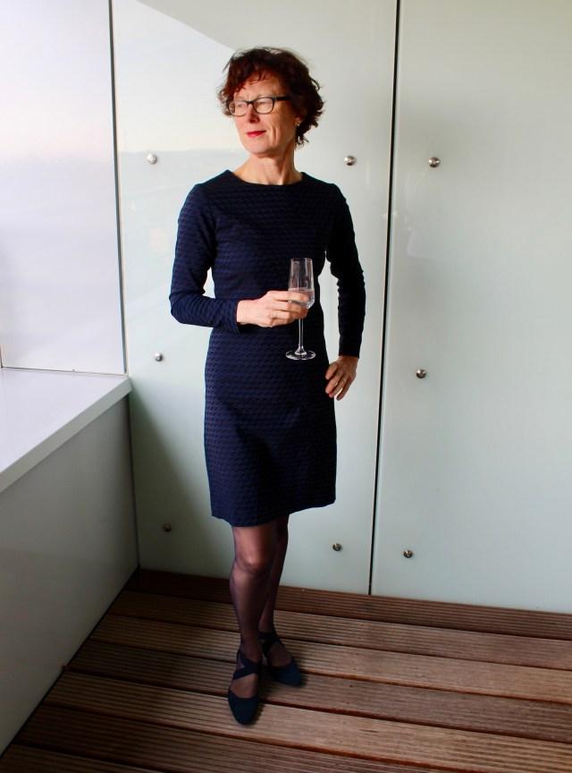 één patroon twee jurken Day&Night Dress uitdaging 2018