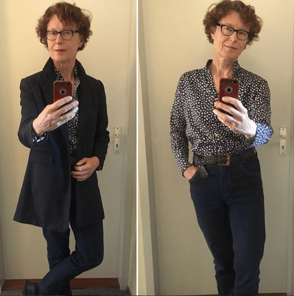 MeMadeMay 2018 showing homemade clothes