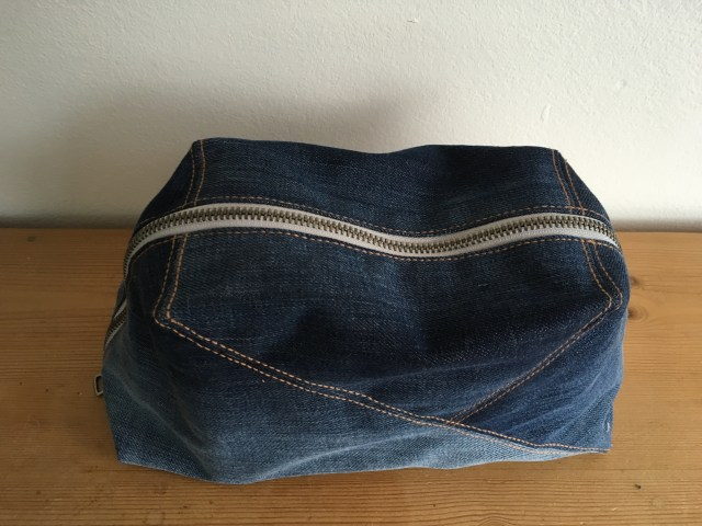 Patty Doo Geo-Bag denim version
