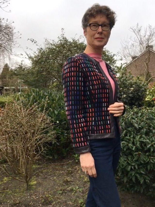 Handgemaakt Chanel style jasje
