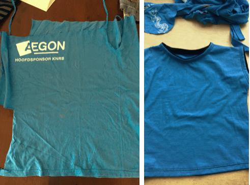 afgedankte roeievenement T-shirt