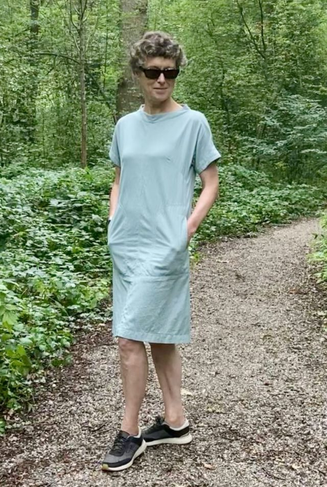 Assembly Line Cap sleeve dress