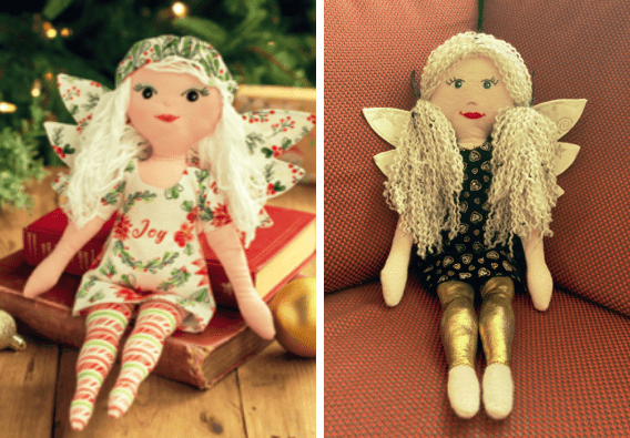 two Beatrice Angels
