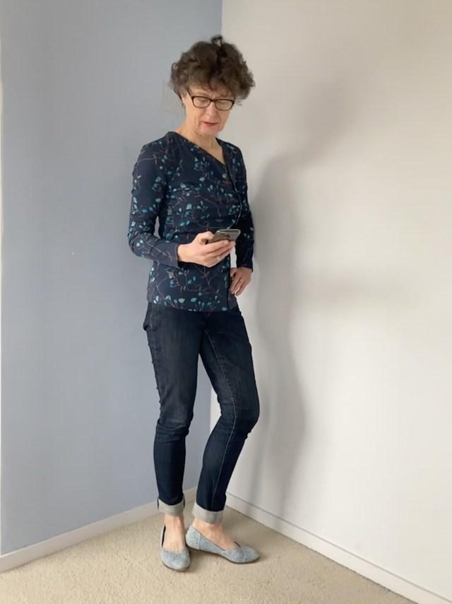 Sola patterns Dahlia shirt