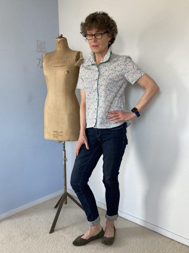Blousette Rose Parisette pattern