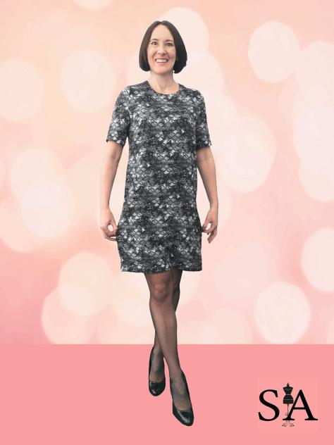 Dallia Shift Dress Sewing Avenue
