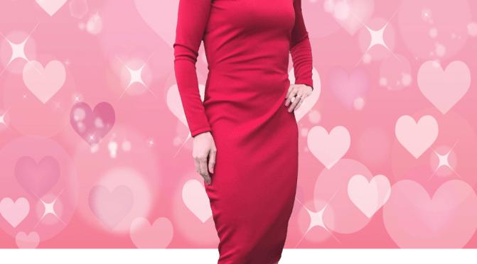 Emilia Red Bodycon Dress- Sewing Avenue Blog - Image -