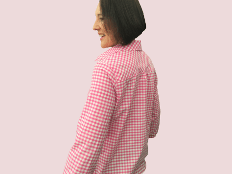 Gingham-Shirt-Back image