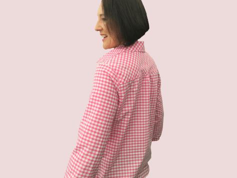 Gingham-Shirt-Back image