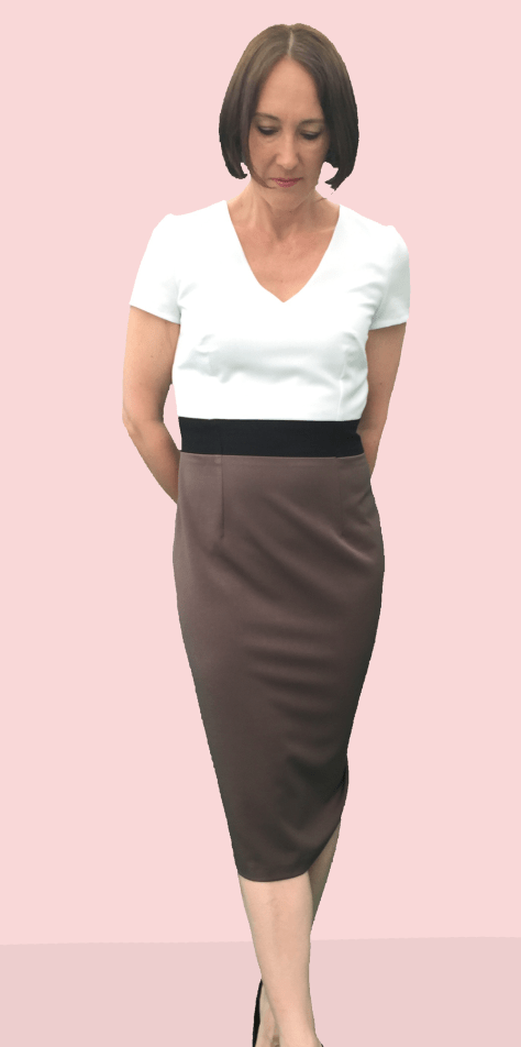 Smart Office Dress Front image