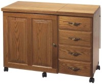 The Drop Leaf Sewing Table   Sewing Furniture