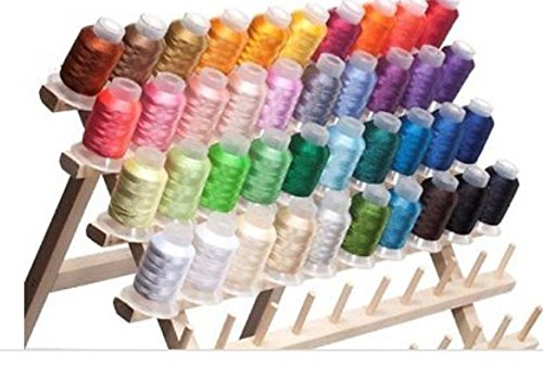 Embroidex 40 Color Polyester Embroidery Machine Thread