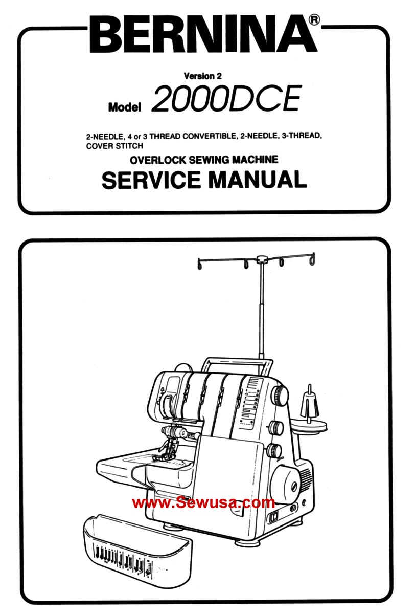 Bernina 2000 DCE Service Manual