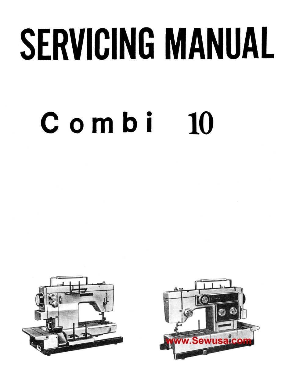 New Home Combi 10 Service Manual