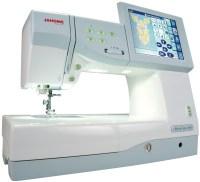 Janome Memory Craft 11000 Embroidery and Sewing Machine ...