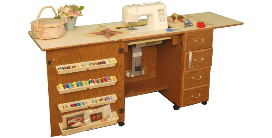 Arrow Marilyn 98300 Sewing Cabinet  oak finish