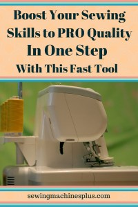 Serge your way to becoming a sewing pro with a serger in your sewing room.