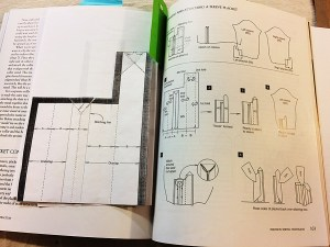 Sleeve placket instructions from David Page Coffin's book.