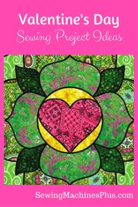 I challenge you to sew valentines this year to show your love.