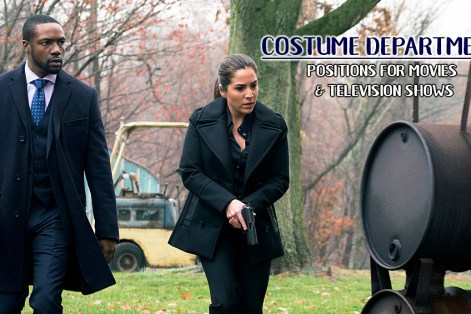 Costume Department Positions for Movies and Television Shows