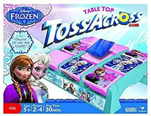 Frozen Toss Across set , and it comes with simple blue throwing bags.