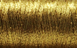Designed for embroidery, quilting, & decorative stitching projects, metallic thread can be used to create beautiful topstitching designs.