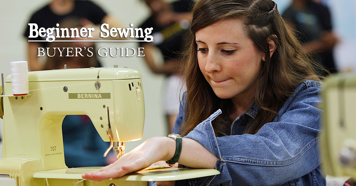 Beginner Sewing Machine Buying Guide