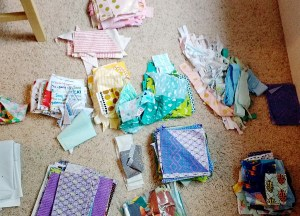 Why should one keep & organize fabric scraps?