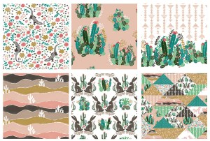 Hawthorne Thread's Palm Springs line brings us deep into California with cacti, lizards, geometry & the sweeping vistas of a desert skyline.