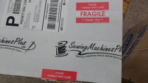I love the feeling of getting sewing packages in the mail, don't you?