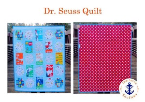 This kit came out in 2015 & is called Celebrate Seuss by Robert Kaufman Fabrics.