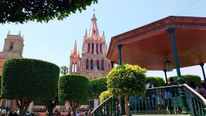 San Miguel de Allende, in the state of Guanajuato, Mexico.