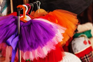 Put on your tutu & run.