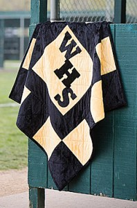 Stadium blanket, photo courtesy Fons & Porter.