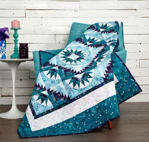 Start a small project, a table runner, a pillow, a tote bag or go for a quilt.