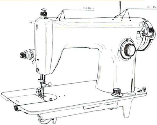 Jones Brother 1360 A Sewing Machine Instruction Manual