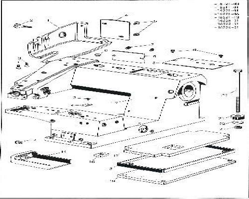 PFAFF 68 Mauser Industrial Overlocker Serger Parts Book