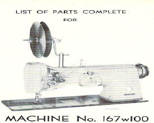 Singer Industrial Sewing Machine Parts Books List 7