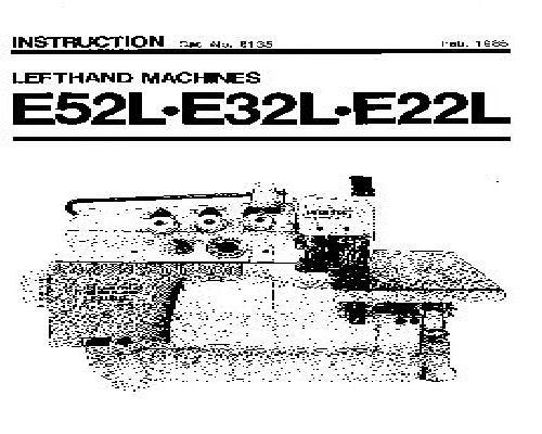 Willcox & Gibbs Industrial Sewing Machine Instruction Manuals