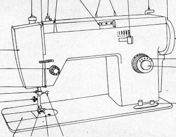 ZIG ZAG Sewing Machine Instructions