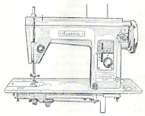 Lucznik Sewing Machine Instructions