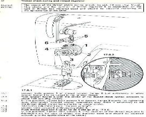 Pfaff Industrial Sewing Machine Instructions