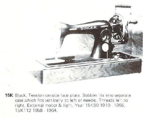 SINGER IDENTIFICATION Sewing Machine Instructions
