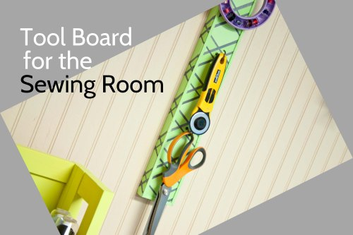 small resolution of d i y tool board for the sewing room