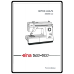 Instruction Manual, Elna 1500: Sewing Parts Online