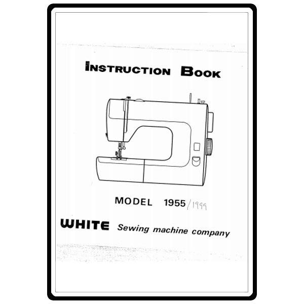 Instruction Manual, White 1955 : Sewing Parts Online